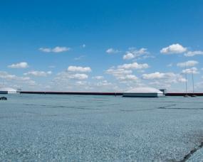 Top Flachdach mit Bitumen-Abdichtung - Genthner Abdichtungen VP46